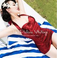2019 summer tight fitting stretch neck dress female ultra short fashion temperament dress professional wear wine red work clothe