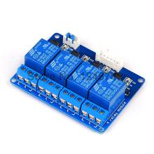 1PCS/LOT 5V 4Channel Relay Module Shield for Arduino 5V 4 Channel Relay Free Shipping