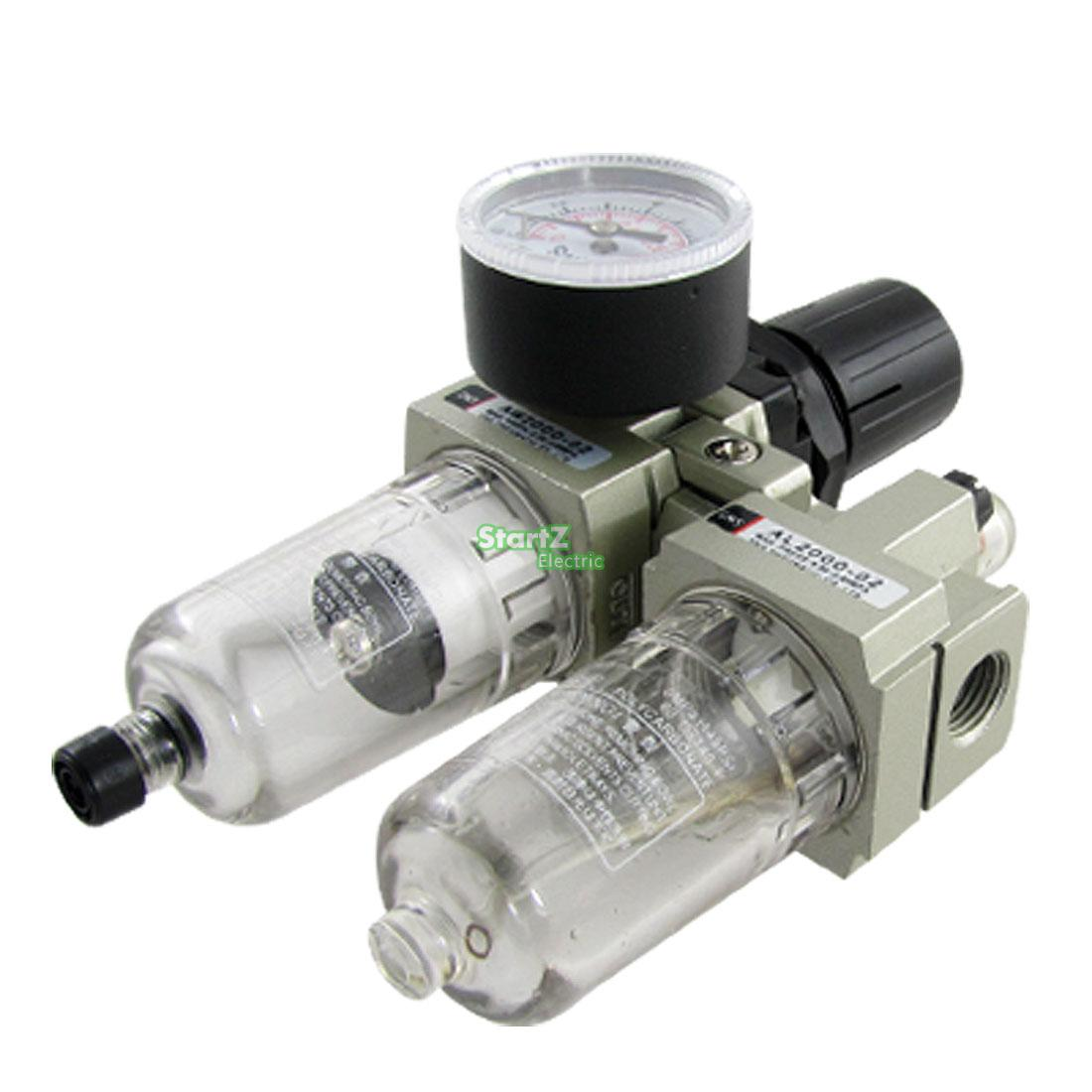 AC2010-02D SMC Automatic Drain type air filter  pneumatic components gas source processor two joint oil-water separator japan smc original genuine source of gas source processor ad402 04 end of the automatic drain water separator