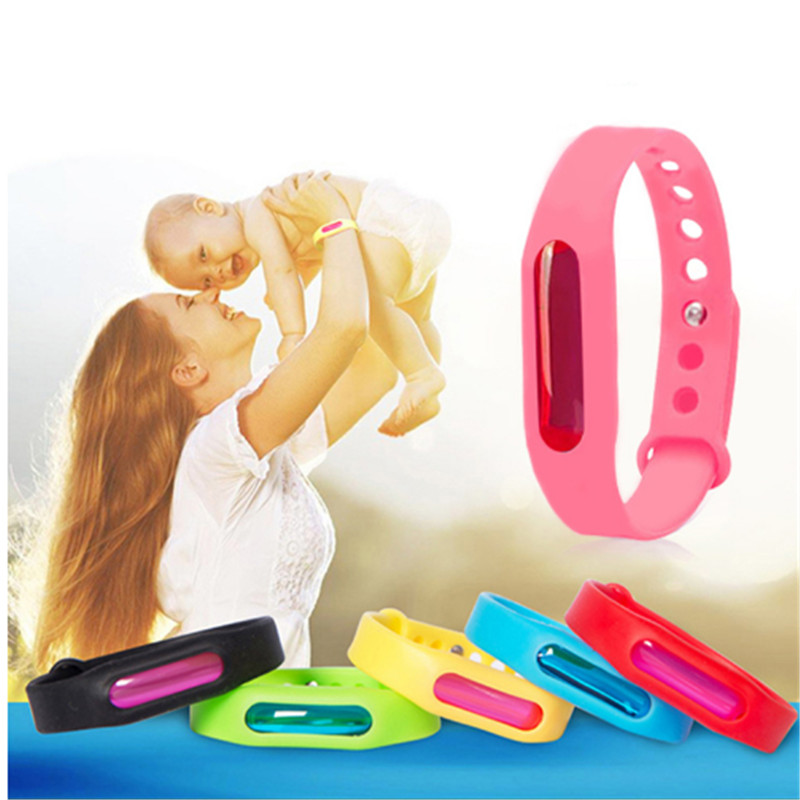 Aspiring 2pcs Mosquito Bracelet Anti Mosquito Pest Insect Bugs Repellent Repeller Wrist Band Bracelet Wristband Kids Children Bracelet Repellents Garden Supplies