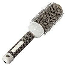 Cepillo De Cerámica del Hierro Redondo de Peine Peluquería Hair Dressing Salon Styling (25mm)