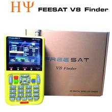 [Véritable] numérique satellite finder FREESAT V8 finder signal recherche meter V8 finder pour DVB-S/S2 avec 3.5 pouce LCD Écran Couleur