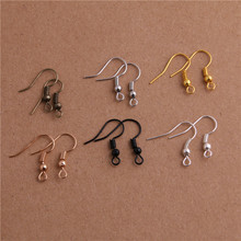 100pcs 20x17mm DIY Earring Findings Clasps Hooks Fittings DIY Making Accessories Iron Hook Earwire Jewelry P6469