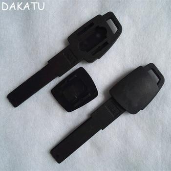 DAKATU Plastic Emergency Spare Key for Audi A6L.A6.A4L.A3.A8 Smart Key Blade SHELL
