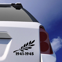 For The Time Of War Is In Classic Modeling Air Power Vinyl Stickers Car Rear Window Sticker