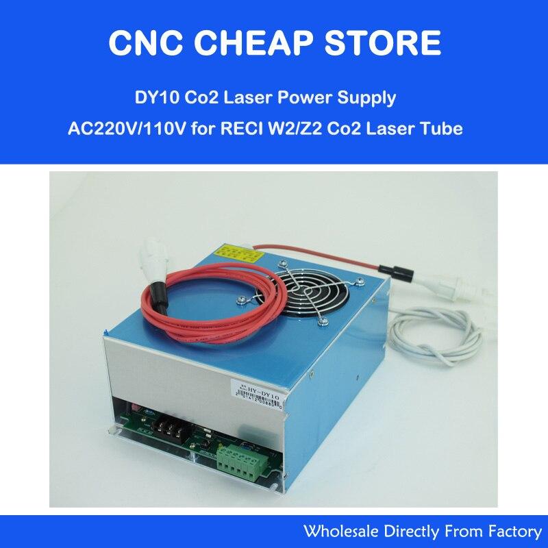Brand New Reci 80W 90W Z2 S2 Tube Co2 Laser Power Supply PSU HY DY10 DIY Laser Cutter Engraver Machine Parts Kits