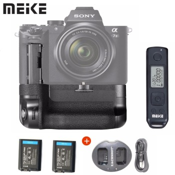 Meike MK-A7II Pro Built-in 2.4g Wireless Control Vertical Battery Grip for Sony A7 II A7R II as VG-C2EM With Battery+Charger