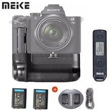 Meike MK A7II Pro intégré 2.4g contrôle sans fil poignée de batterie verticale pour Sony A7 II A7R II comme VG C2EM avec batterie + chargeur