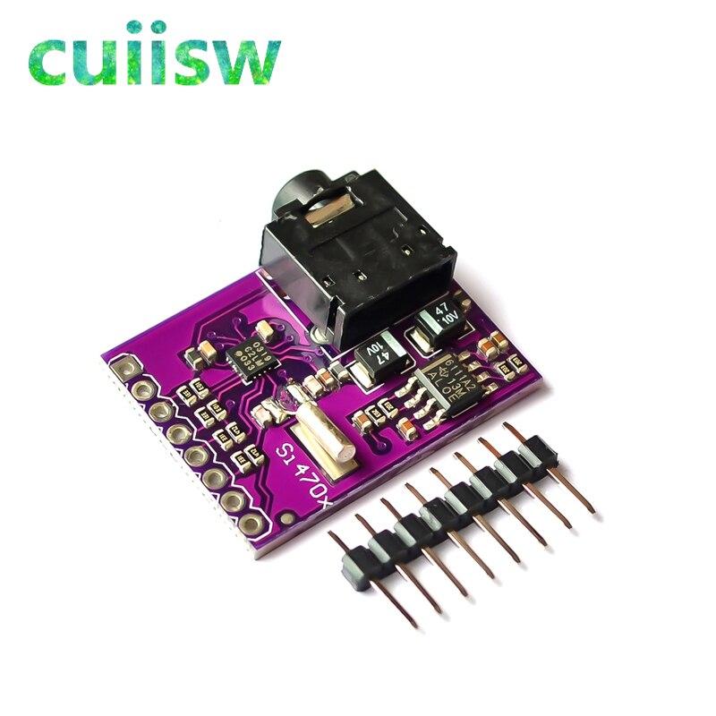 Nouveau Si4703 RDS Radio FM tuner Evaluation Breakout Board Pour Arduino AVR ARM