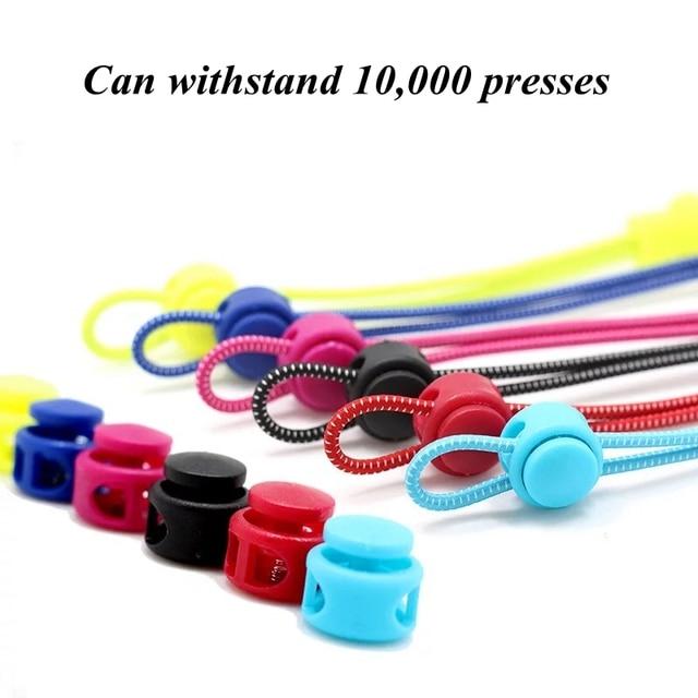 Reflective Elastic Shoelaces Stretching Lock Shoe Laces Brand No Tie Shoelace Outdoor Sneaker Lace Shoe accessories lacets T2