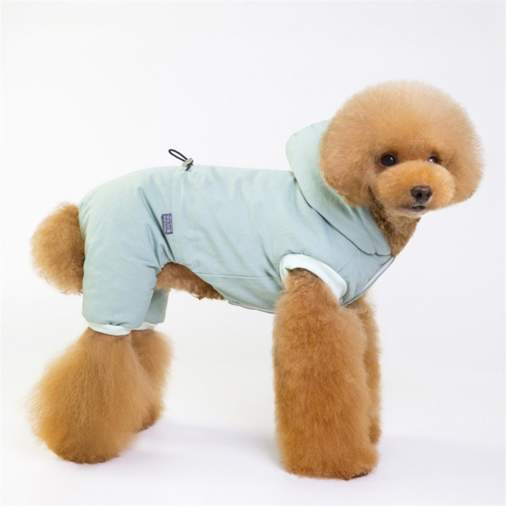 Cálido abrigo para cachorros y perros pequeños 8