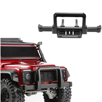 High Quality Alloy Front Bumper Anti-collision Bar Kit For 1/10 RC Crawler Car Defender TRX4