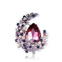 AAAAA Class Brooch MOON Imitation crystal brooch women Japan and Korea fashion accessories temperament brooch pin buckle