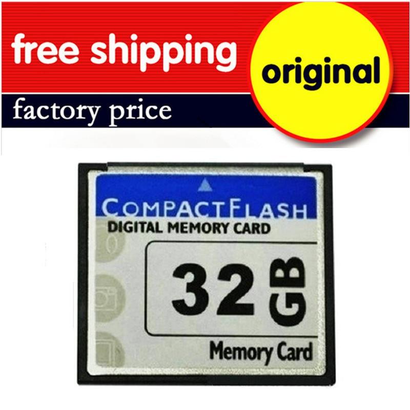 50PCS/LOT Factory Price Real Capacity CF Compact Flash Card Pass H2testw Compactflash Card Memory 4G/8G/16G/32GB/64GB Class 10