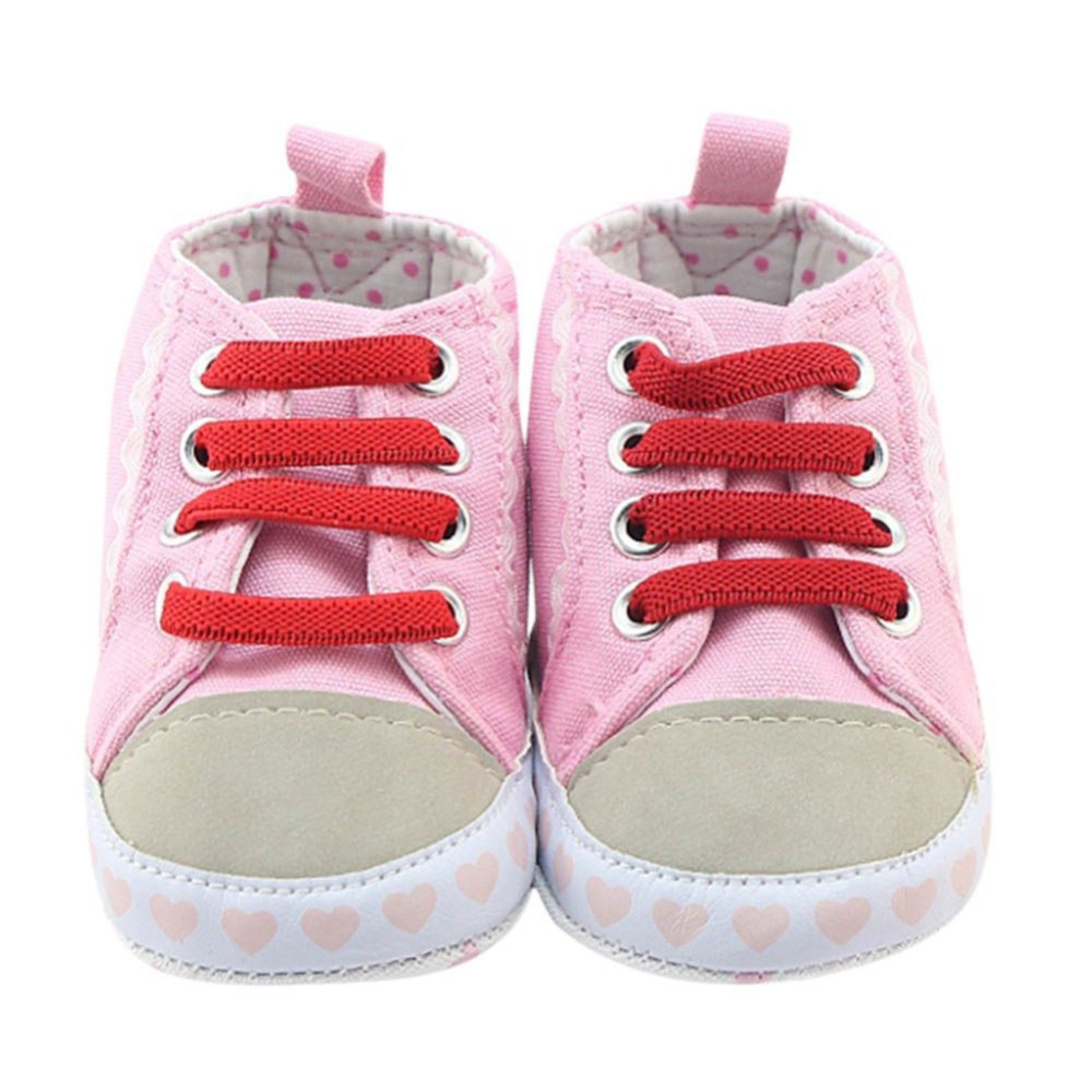 2017 Newborn Baby Toddler Girl Shoes Casual Breathable Soft Sole Clothes Infant First Walker