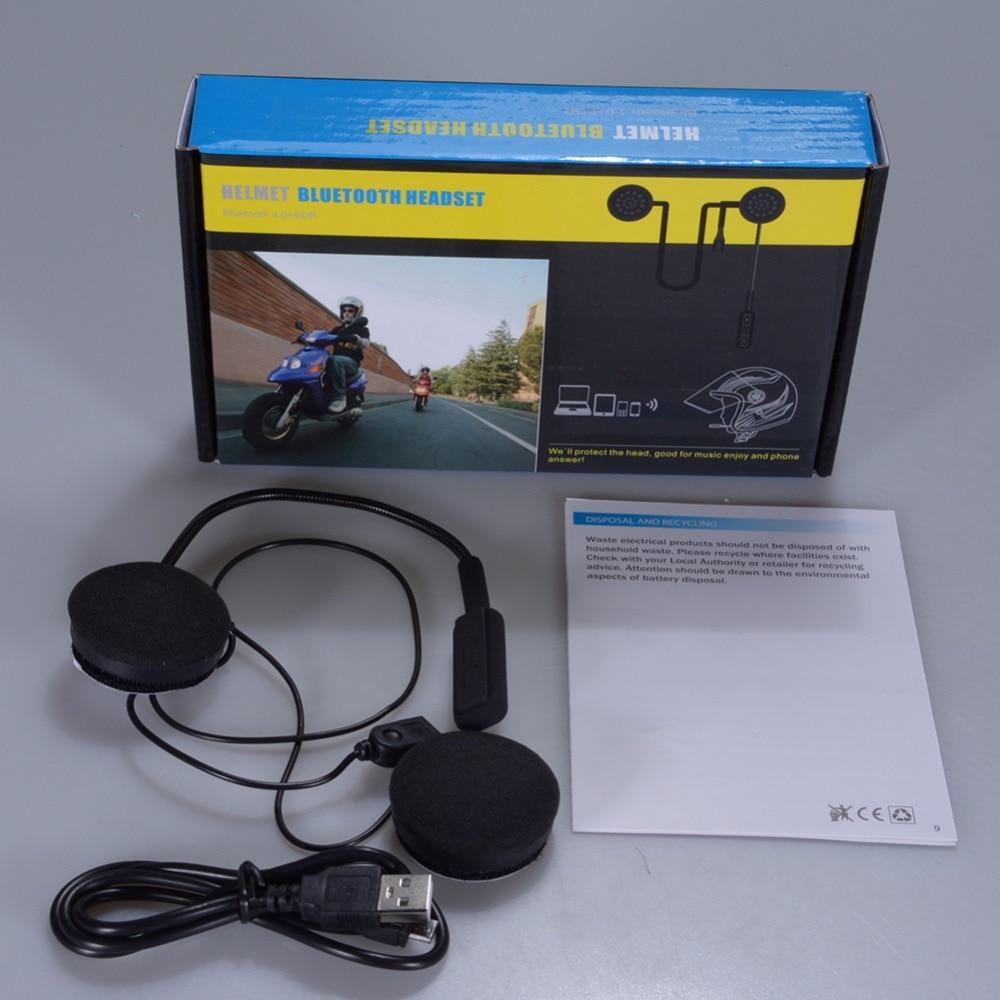 HobbyLane Motorbike Helmet Bluetooth Headsets Wireless Headphones Dual Stereo Speaker Hand-free Mic Earphone for phone d20 Pakistan