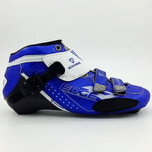 Schankle Adult men and women professional speed skating shoes speed skating shoes uppers Inline speed skating