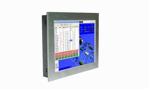 Image 2 - Fanless 15 Inch with touch screen High Brightness Embedded Industrial panel PC
