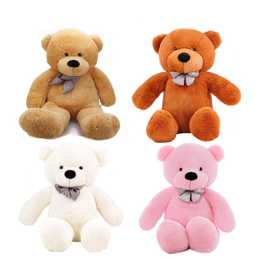 1pc 100cm Teddy Bear Plush Toys Soft Animal Bear Skin