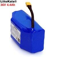 LiitoKala 36 v 4.4Ah 4400 mah alta drenagem 2 roda scooter elétrico auto balanceamento 18650 li-ion battery pack para Auto -equilíbrio Se Encaixa