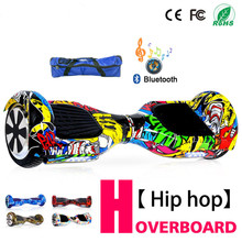 цена на 6.5 Inch Hoverboard Self Balancing Electric Scooter Electric Skateboard Smart Balance Board With Bluetooth Tas Remote Control