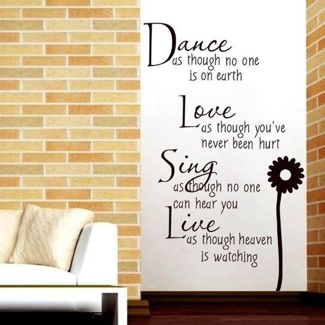 Online Shop Creative fashion english text dance love singing art ...