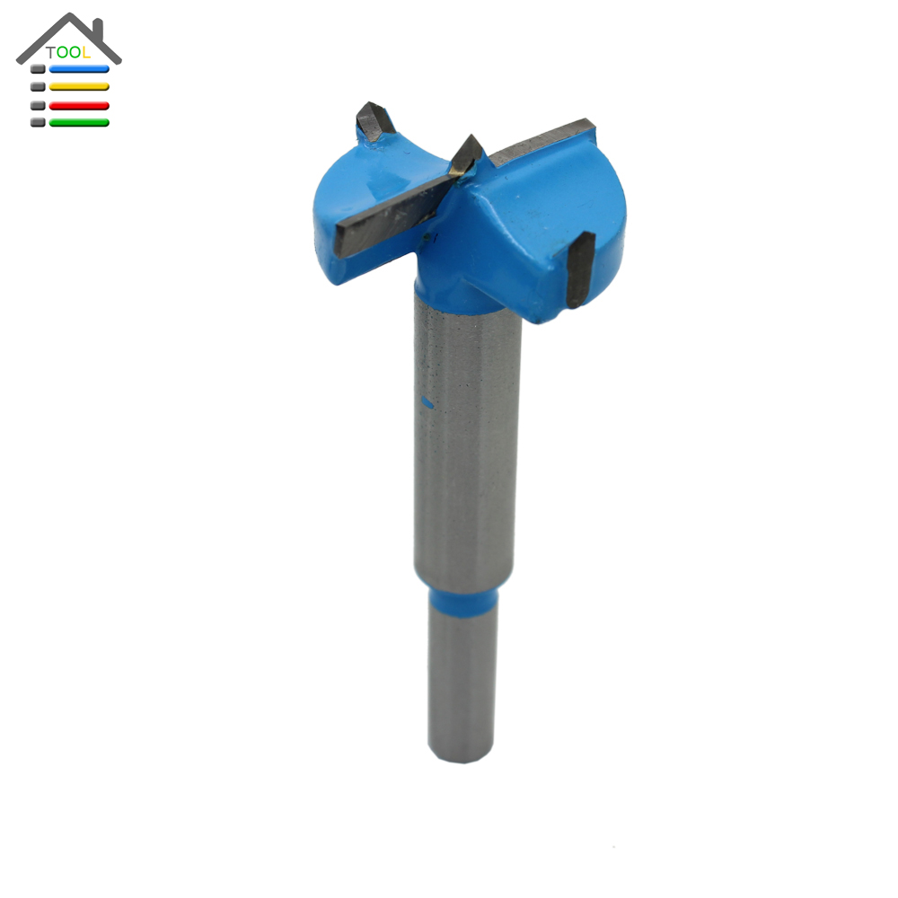 AUTOTOOLHOME Forstner Bit 25 30 32 35 50mm Carbide Tipped Hinge Cutter Woodworking Drilling Drill Bit Tool Hinge Cutter Boring 38mm 100mm diameter hinge boring bit woodworking silver tone round shank wood drilling forstner carbide tip cutting wood tool