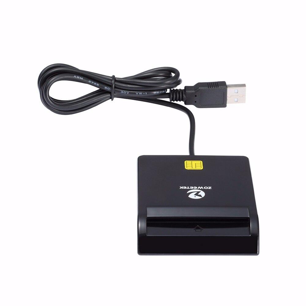 40 pièces Zoweetek 12026-1 USB Lecteur de Carte à Puce DOD Militaire USB D'accès Commun CVC Lecteur de Carte à Puce Pour SIM ATM Carte D'IDENTIFICATION D'IC