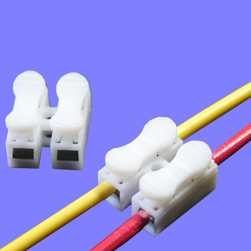 high quality brand new ch 2 mini press type electric connection rh aliexpress com Electrical Wire Quick Connectors Winch Quick Connect