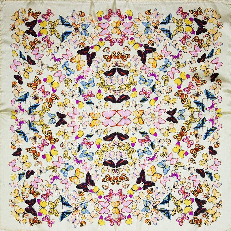 Vichy pois imprimer fil foulard
