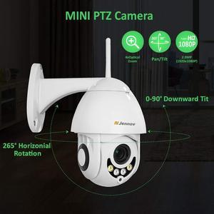 Image 3 - Jennov PTZ IP מצלמה 1080P 2MP HD Wifi חיצוני אבטחת מצלמה Wi Fi עם ראיית לילה אלחוטי טלוויזיה במעגל סגור עבור בית וידאו מעקב