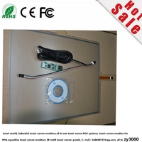 Hot Sale Stock 5pcs/lot 10 Inch 24*169 Usb Industrial Resistive Touchscreen Panel.