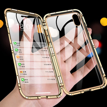360 Full Cover Magnetic Phone Case For iPhone 11 2019 XS MAX XR XS 8 8
