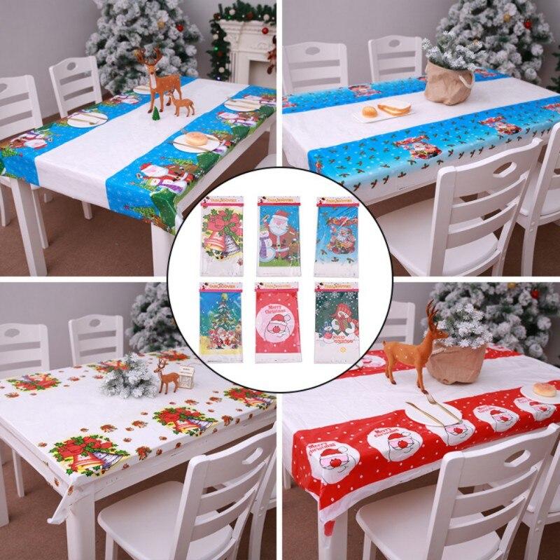 Christmas Decoration Digital Printing Table Set Party Rectangular Tablecloth