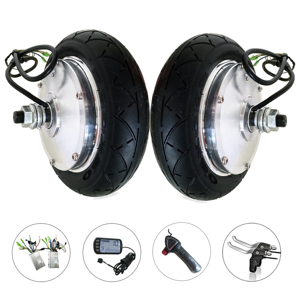 Brushless Gear Motorized Hub Motor 8 36V 250W 350W Wheel Motor Kit Electric Scooter Electric Bicycle Conversion Kit