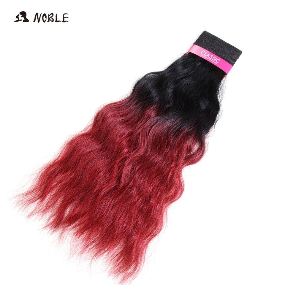 Nobre cabelo sintético de alta temperatura fibra