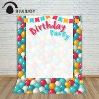 Photo Background Vinyl Birthday Photo Colour Balloons Invitaion Photocall Digital Printing Customize Photography Studio Prop