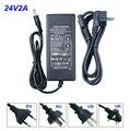 DC24V2A  EU/UK/AU/US plug Power adapter AC110-220V to DC24V 2A led strip lighting transformer  for 3528/5050 led tape