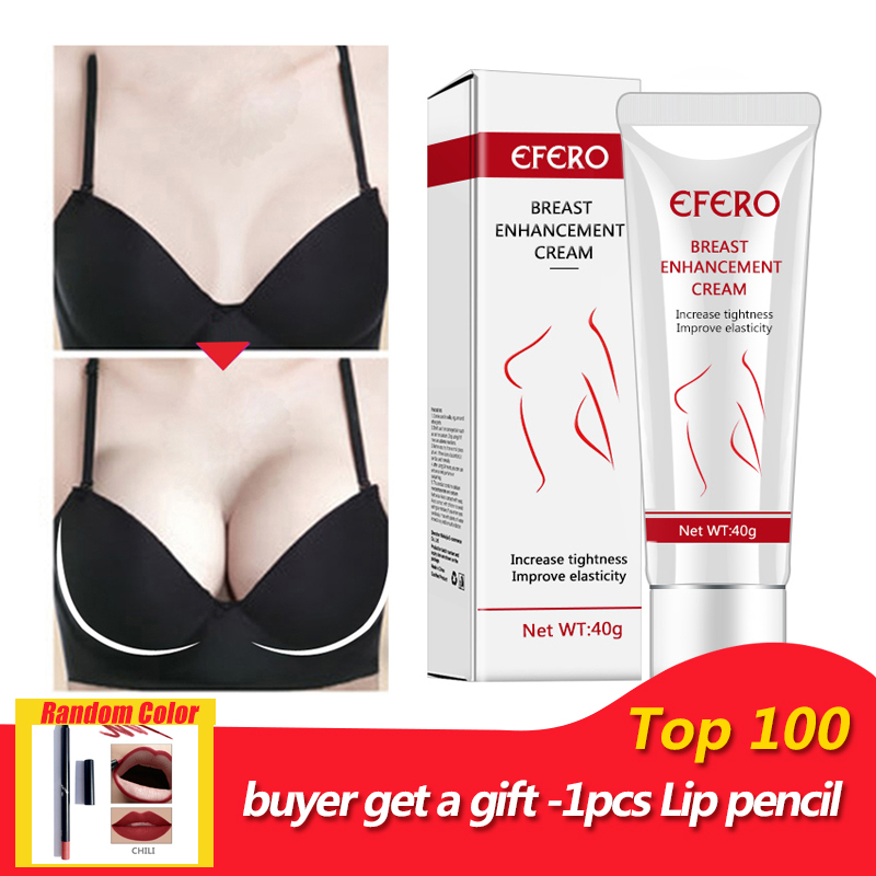 EFERO 1pcs Breast Enlargement Cream Body Breast Cream Women Female Big Bust Cream Breast Lifting Fast Firming Full Elasticity(China)
