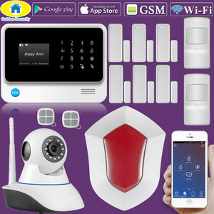 Image 2 - Towode G90B בתוספת WIFI GSM 2G IOS אנדרואיד APP מרחוק בקרת אבטחת בית אזעקה מערכת IP מצלמה משולב
