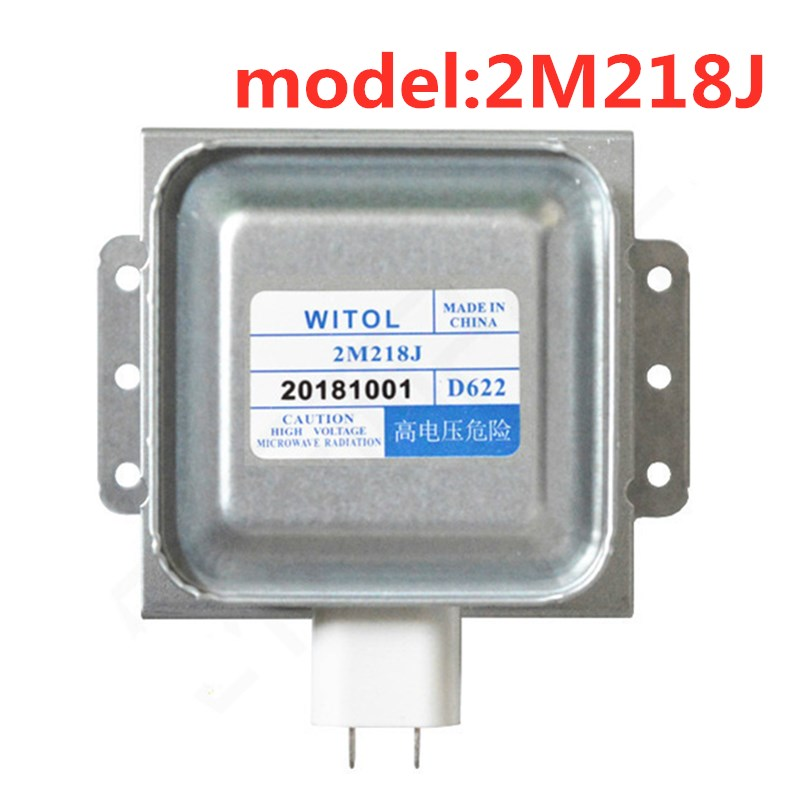 For 2M218J Midea Galanz Permatron Magnetron With WITOL Electronic Microwave Oven Accessories Can Replace 2M217J 2M518J