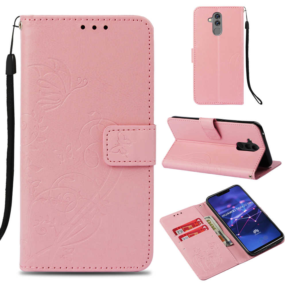 Flip Book Case For Huawei Mate 10 20 P8 P9 P20 Pro Lite Mini 2017 Nova 3E Y9 Y6 Y7 Y5 Prime 2018 P Smart Honor 5C 5X 7A Pro