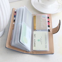 Fashion Umbrella 55 Cards Position Credit Card Holders Large Capacity Women Card Wallet Long Brand Female
