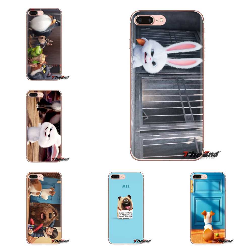 For Huawei Mate Honor 4C 5C 5X 6X 7 7A 7C 8 9 10 8C 8X 20 Lite Pro Soft Transparent Shell Covers The Secret Life of Pets Poster