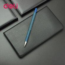 Deli Office 48 k carnet d'affaires en cuir souple carnet d'école planificateur cadeau voyageur Journal organisateur Agenda écriture Journal Note