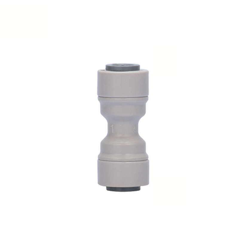 3 8 39 39 OD Tube RO Water Quick Connector Reducing Straight Tight Junction Double Sealing PE Pipe Fitting Filter System in Pipe Fittings from Home Improvement
