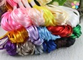"1/8"" 3mm Multi colors option Satin Ribbon for packing and bow & Garment Accessories 20y/lot 040007094"
