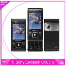 Sony Ericsson C905 C905 Оригинал Unclocked Мобильный телефон 8MP Камера 3 Г GPS WIFI Русский Поддержка клавиатуры Бесплатная Доставка