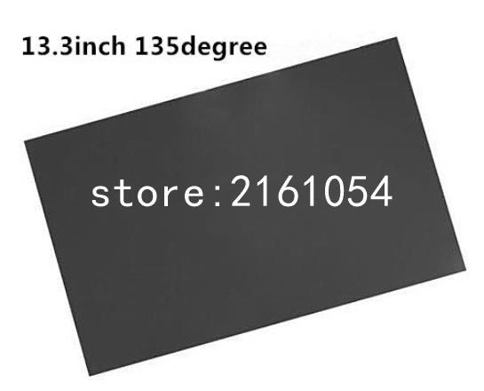 2 Sheets 13.3inch Lcd Led Panel Polarizer/polarized/polarizin Film 135degree