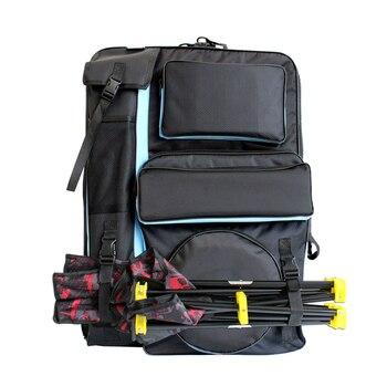 حقيبة رسم فنية كبيرة 4K لمجموعة أدوات الرسم الفنية المحمولة المقاومة للماء حقيبة أدوات الرسم للوازم الفنية للفنان 68x48cm